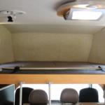 バンクベットは奥行き1820×幅1500ミリの広々サイズ