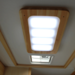 Ceiling Ventilation fan and LED light