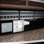 集中したスイッチパネルで電気管理も楽です。