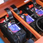 サブバッテリー3本搭載で豊富な電力