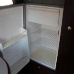 冷蔵庫はサブバッテリーで稼働可能です