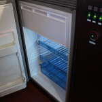 refrigerator is 90liters with 12volt drive