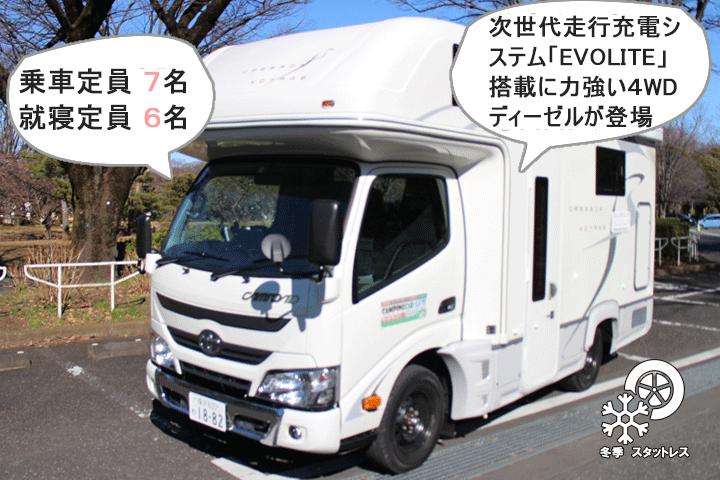 ナッツ社製 CRESSON(クレソン)エボライト 4WDディーゼル