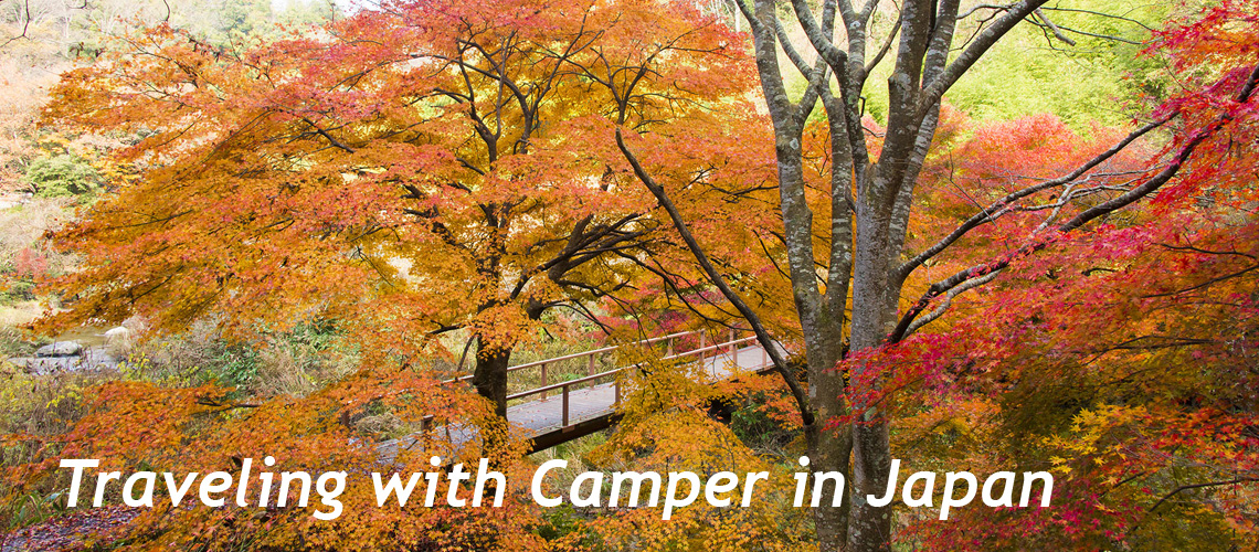Traveling with Camper in Japan